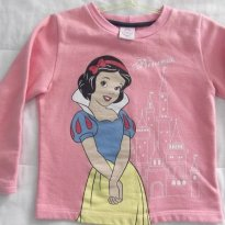 Blusa de Moleton Princesas - 3 anos - Disney