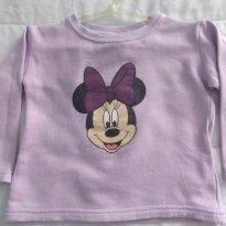 Blusa de Moleton da Minnie - 1 ano - Disney