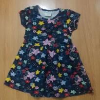 Vestido Infantil Floral Rovitex Kids - 2 anos - Rovitex Kids