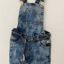 Macacão jeans lilica usado só uma vez - 6 anos - Lilica Ripilica