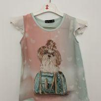 Blusa dog fashion - 4 anos - Arte Menor