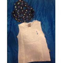 Camiseta regata - 6 a 9 meses - PUC e Tip Top