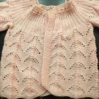 Agasalho lã - 3 a 6 meses - Sem marca