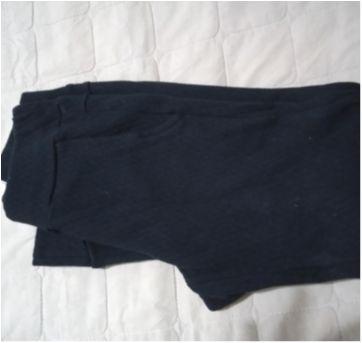 Calça moletom preta - 8 anos - Pituchinhus