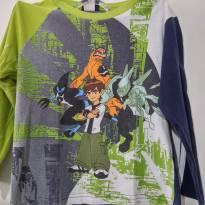 Camiseta Manga Longa BEN 10 . - 6 anos - Cartoon Network