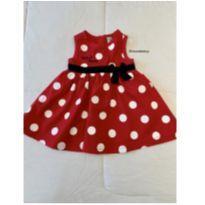 Vestido da Minnie - 6 meses - Disney