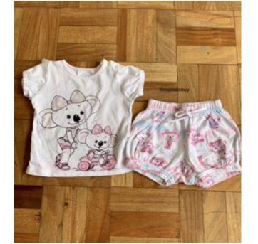 Pijama que brilha no escuro - 18 a 24 meses - Lilica Ripilica