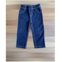 Calça jeans moletom Carters 18 meses - 18 meses - Carter`s