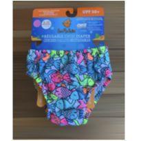 Fralda reutilizável nova 6/12 meses -  - Sea Me Swim