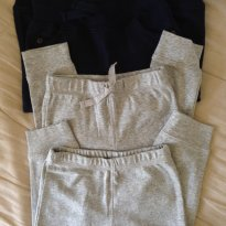 Lote 3 calças - 3 a 6 meses - Carter`s