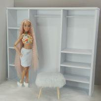 Closet para Barbie -  - Não informada