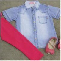 Camisa feminina NOVA - 3 anos - Aziza Kids