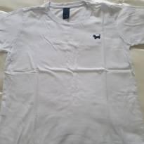 Camiseta básica branca um + um - 6 anos - Um mais um