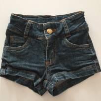 Short Jean - 2 anos - Não informada