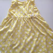 Vestido Amarelo de Bolinha - 3 anos - Nini e Bambini