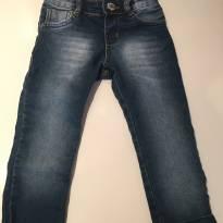 Calça Jeans barra com desenho - 2 anos - Pom