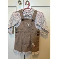Jardineira com camisa Carters - 18 meses - Carter`s