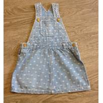 Jardineira Jeans - 18 a 24 meses - Baby Club