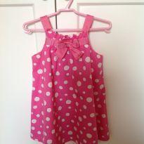 Vestidinho Maravilhoso Rosa com Poá Branco  Gymboree - 2 anos - Gymboree