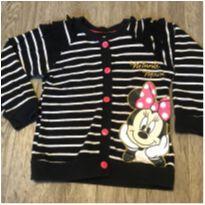 Blusa Listradinha Minnie - 3 anos - Não informada