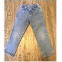 Calça Jeans com Elástico na Cintura Hering tamanho 4 - 4 anos - Hering Kids
