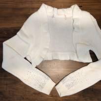 Bolero tricot com aplicações Pituchinhus - 10 anos - Pituchinhus