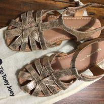 Sandália em couro - 34 - Tip Toey Joey