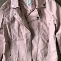 Jaqueta de corino - 8 anos - Renner