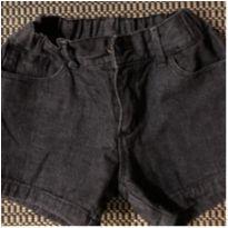 Short jeans preto - 10 anos - Lilica Ripilica