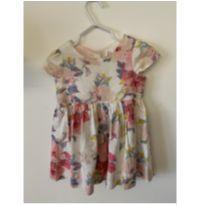 Vestido florido GAP - 12 a 18 meses - Baby Gap e carter`s, baby gap, zara