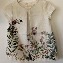 Vestido Baby Zara - 6 a 9 meses - carter`s, baby gap, zara e Zara Baby