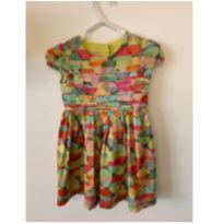 vestido colorido + calcinha | 1+1 - 1 ano - Um mais um e 1+1