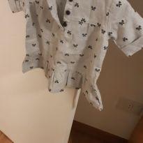 blusa 100% algodão estampa lacinho - 9 meses - Carter`s