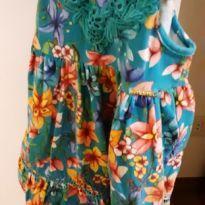 lindo vestido florido Tam 2 - 2 anos - Momi