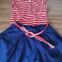 Short e blusa navy - 3 anos - Noruega Baby