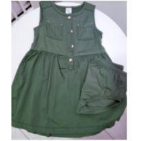 Vestido verde militar - 2 anos - Carter`s