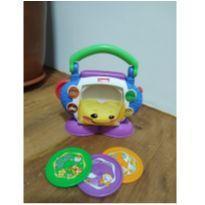 O Cd Playerdo seu bebe  Aprender E Brincar Fisher Price -  - Fisher Price e Importada