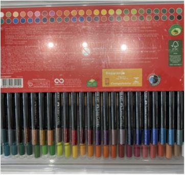Lápis de cor Faber-Castell 50 - Sem faixa etaria - Faber-Castell