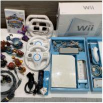 Wii Nintendo completo + acessórios e jogo skylander -  - Nintendo Wii