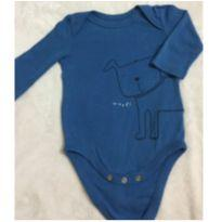 Body Gap Cachorrinho - 0 a 3 meses - Baby Gap