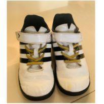 Chuteira Adidas FB Ace Infantil Branca, Preta e Dourada - 25 - Adidas