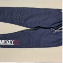 Calça de Moletom do Mickey Disney Azul - 3 anos - Renner