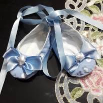 sapatilha de tecido - 18 - Não informada