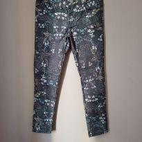 Jeans florido Zara - 6 anos - Zara