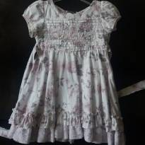Vestido  Floral vintage - 3 anos - Menina Bonita