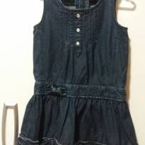 Vestido Jeans - 2 anos - Dress Kids