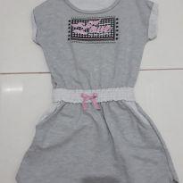 Vestido de Moletom - 6 anos - marmelada