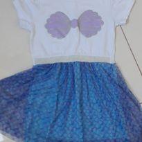 Vestido Ariel - 6 anos - Riachuelo