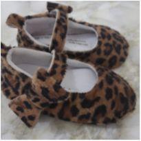 Sapato oncinha pelúcia - 18 - Teddy Boom e Baby fashion; Vicky lipe; Teddy boom