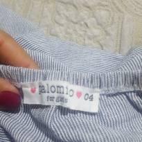Vestido em tecido - 4 anos - Palomino